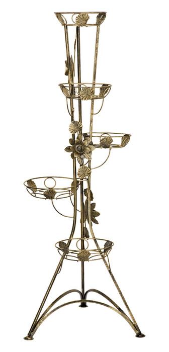 Kwietnik Kolumna 5-ka z różą Model 130A