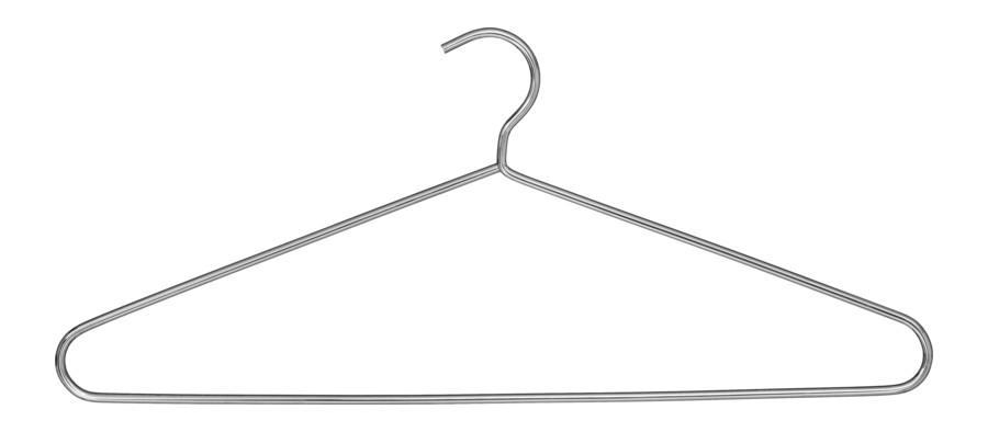 Wieszak ubraniowy chrom Model 373