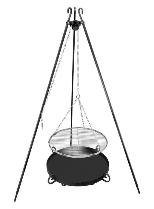 Grill myśliwski, komplet – 60 cm Model 396