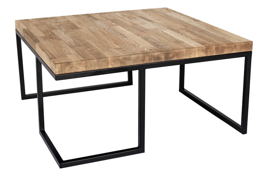 Stół z drewnianym olejowanym blatem - lite drewno Model 471