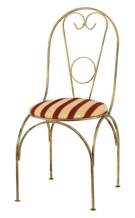Krzesło metalowe z siedziskiem Model 69A