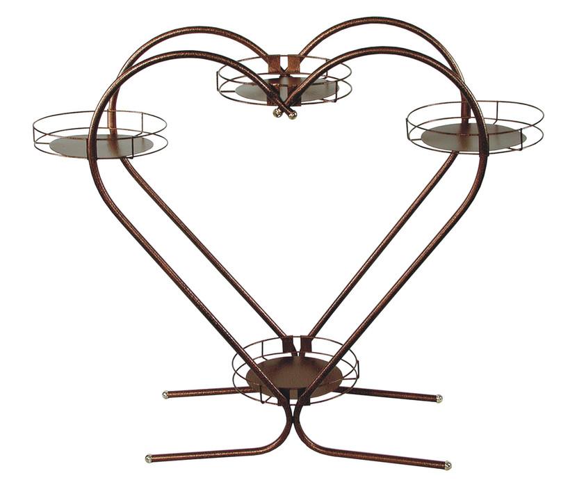 Kwietnik serce Model 81