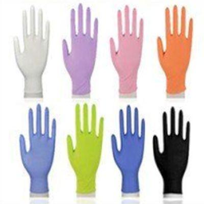Rękawiczki Nitrylowe (M,L,XL) op. 100 szt Model RNI-01